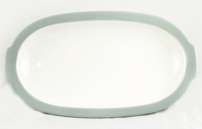 Small serving dish blue am. p 3