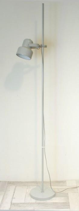 Staande lamp grijs metaal v. sl 2