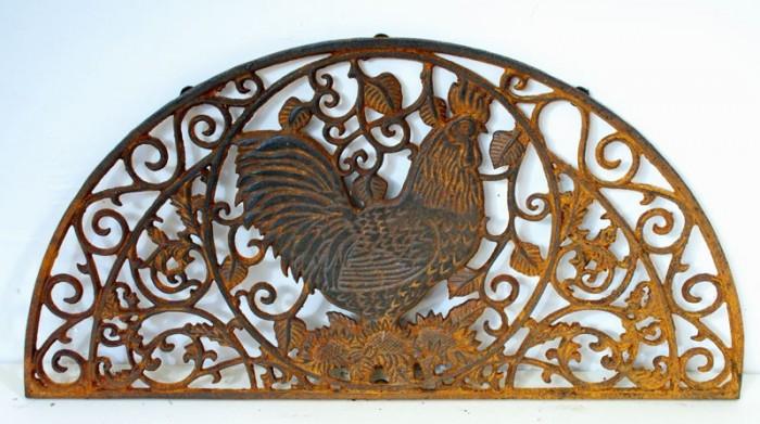 Rooster door mat td. g 9