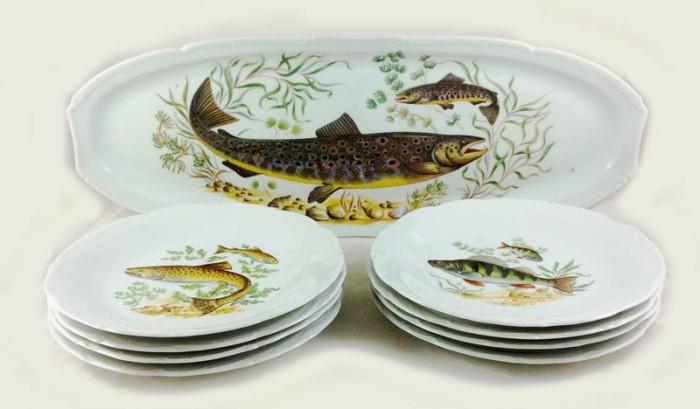 Fish dinner service kk. s 6
