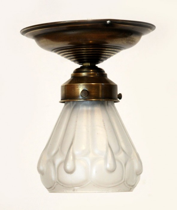 Small glass ceiling lamp v. p 4