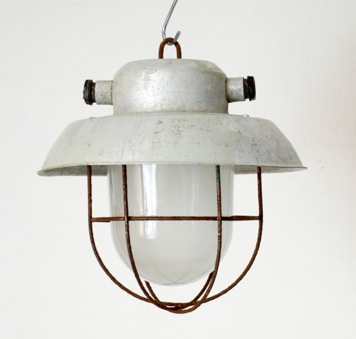 Industriele lamp v. d 14