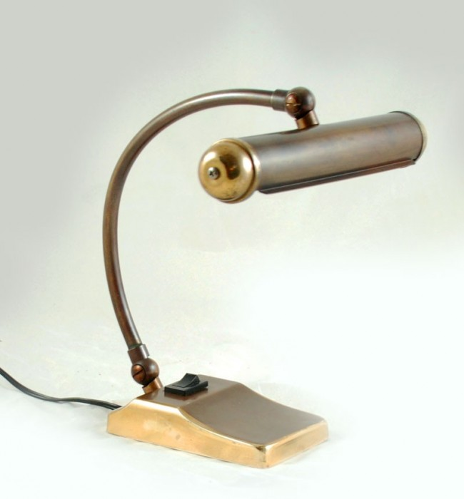 Messing bureaulamp v. sl 11