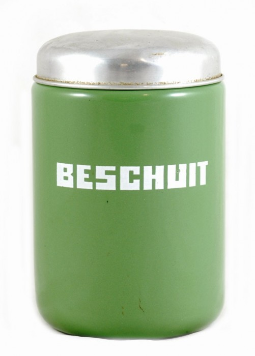 Biscuit rusk canister e. rg 6