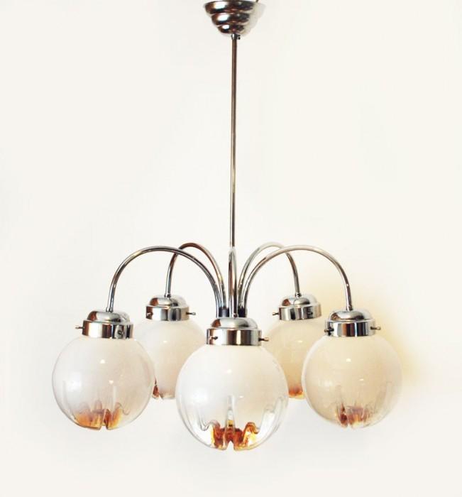 Mazzegga Murano lamp v. k 2