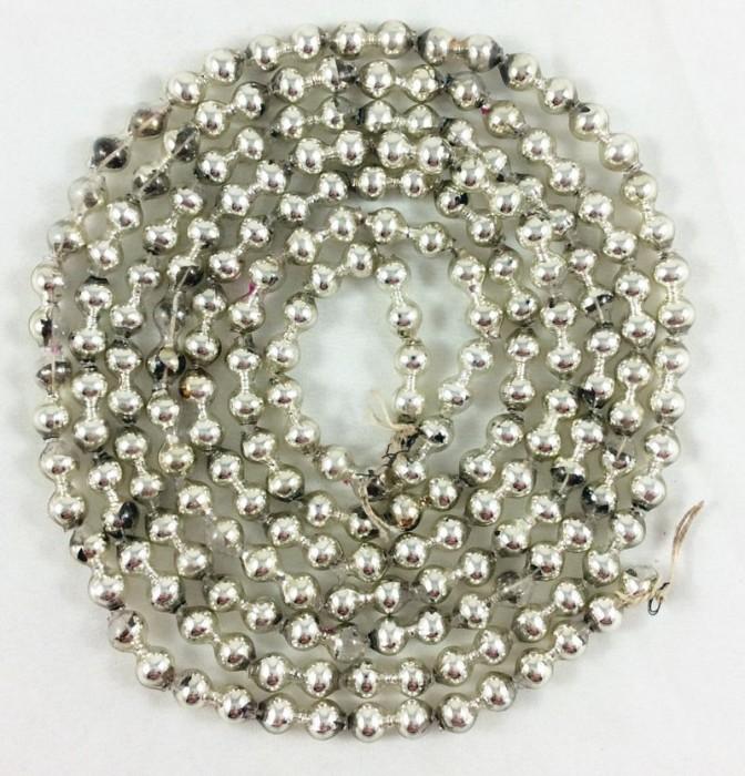 Kralenslinger zilver k. s 12