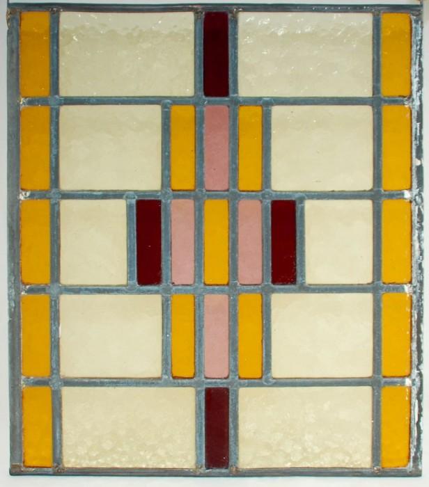 Glas in lood raam  6