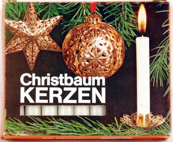 Christbaum kerzen wit k. vk 11