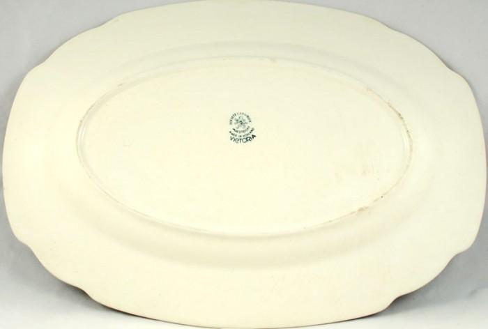 Oval serving dish  am. v 1