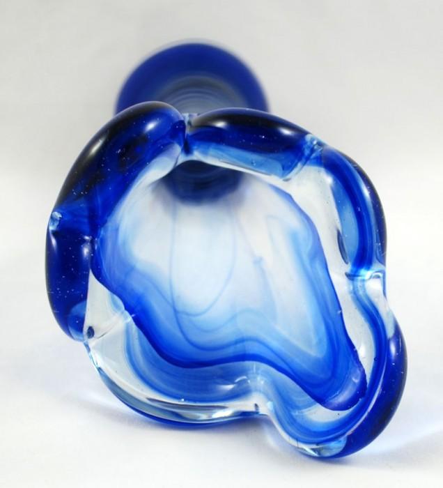 Blauwe vaas gk d 8