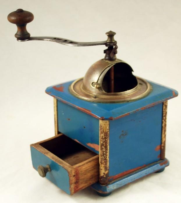 Handkoffiemolen blauw nr. 1