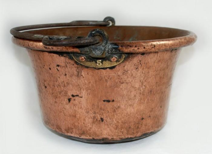 Kookpot koper kk. p 10