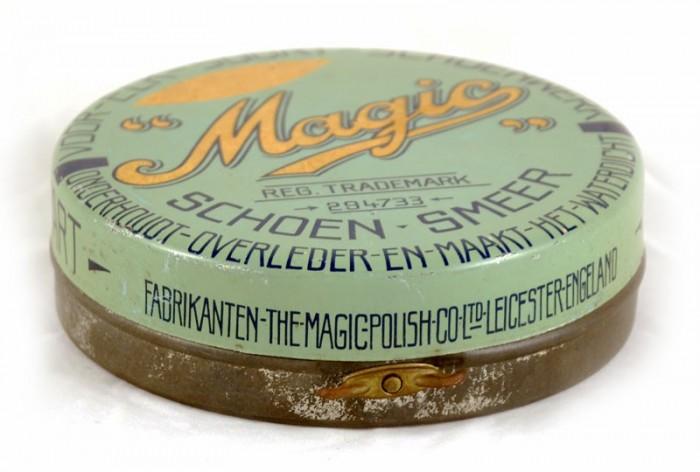Magic shoe polish tin c. b 11