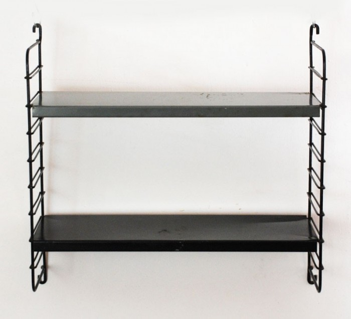 Metal book rack c. d 9