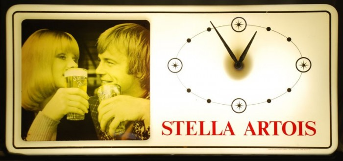 Stella Artois lichtreclame c. r 13