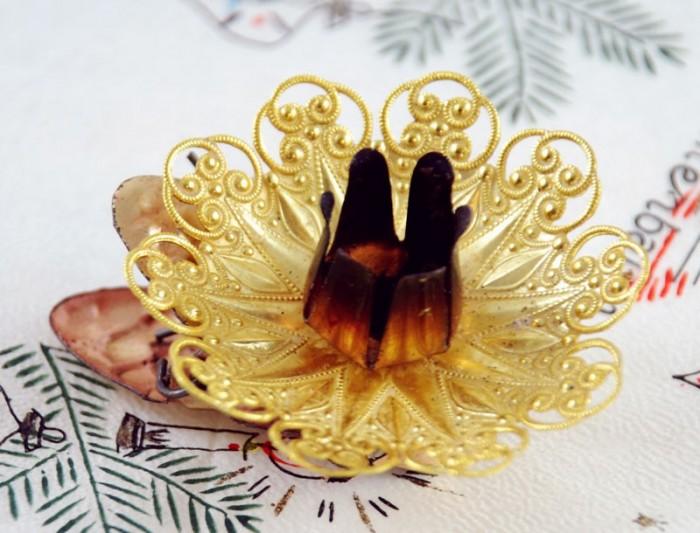 Kaarsenhouders goud k. vk 5