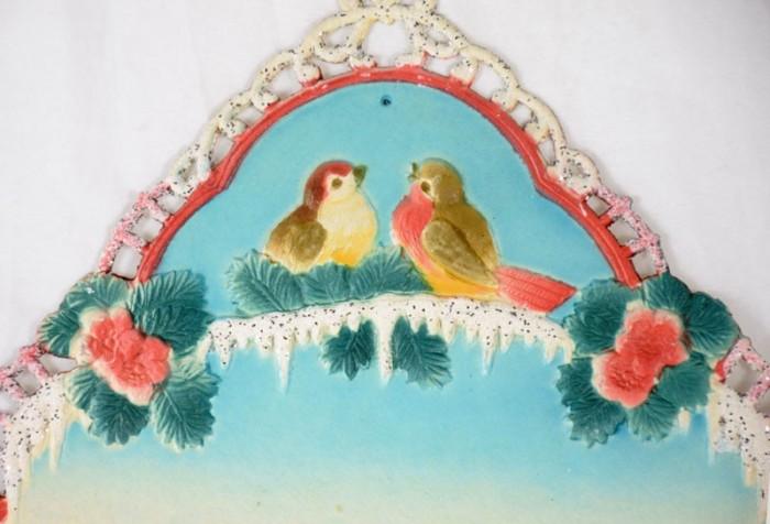 Kartonnen kerst wanddecoratie k. d 7