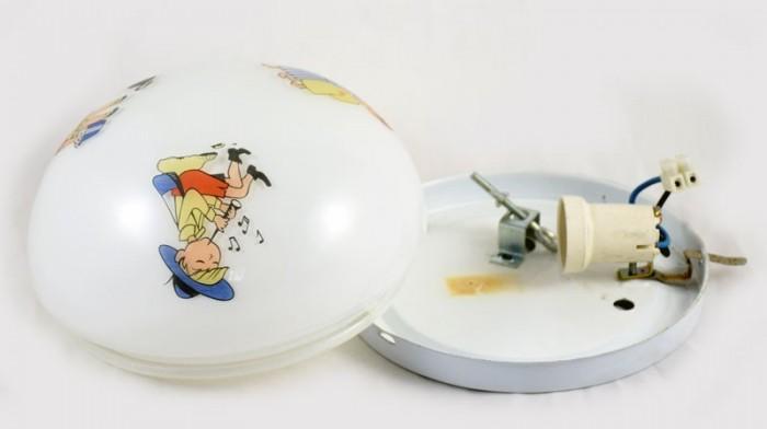 Plafondlamp kinderkamer v. p 9