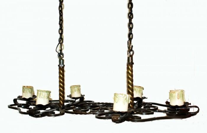 Cast iron chandelier  v. k 17