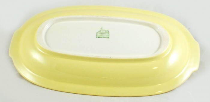 Small serving dish yellow am. p 4