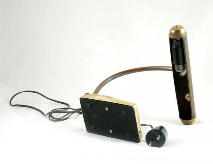 Messing bureaulamp v. sl 11
