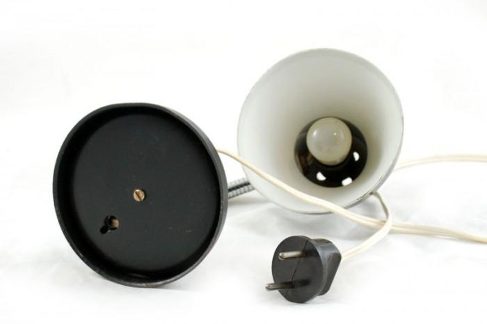 Bureaulampje zwart vd. sl 12