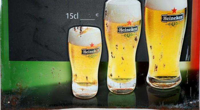 Heineken reclamebord c.r 9