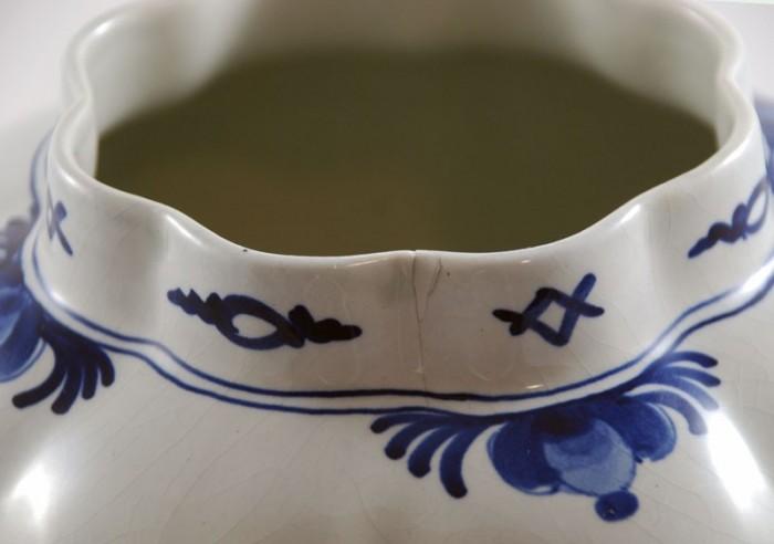 Dekselpot Delft Porceleyne Fles a.pa 8