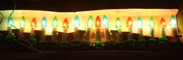 Gekleurde kerstboomverlichting pools k l 4