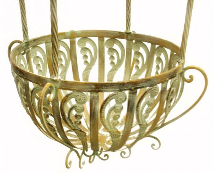 Victoriaanse hanging basket groot groen