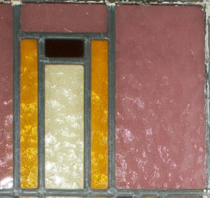 Glas in lood raam 7
