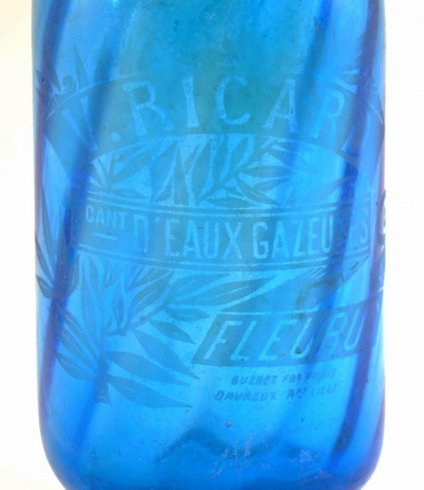 Sifon fles blauw gk d 5