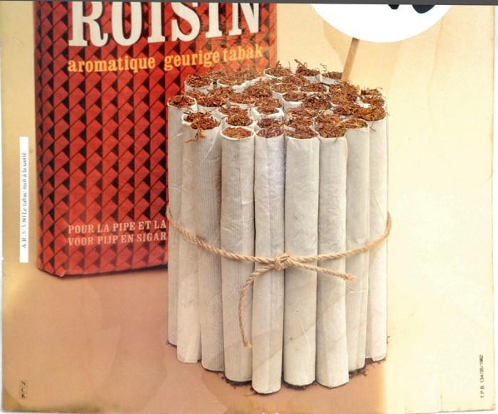 Roisin tabak karton reclame c. r 12