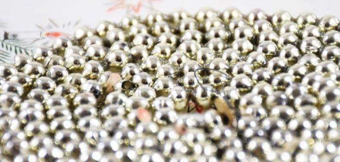 Kralenslinger zilver k. s 2