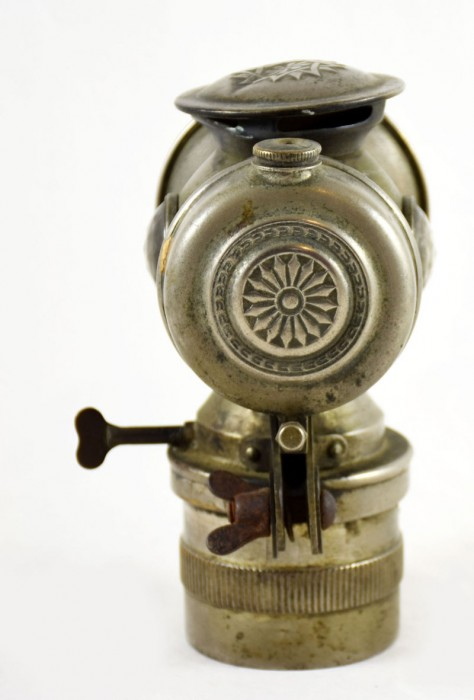 Carbid lamp fiets c. d 8