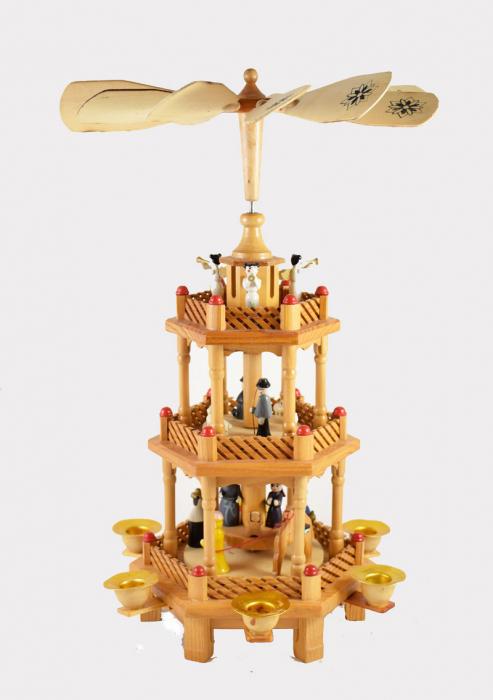 Christmas pyramid k. d 15