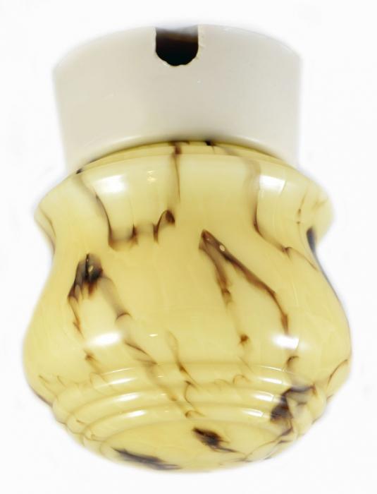 Art deco plafondlamp v. p 8