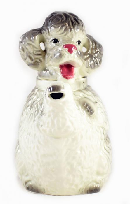 Poodle dog teapot a. pa 5
