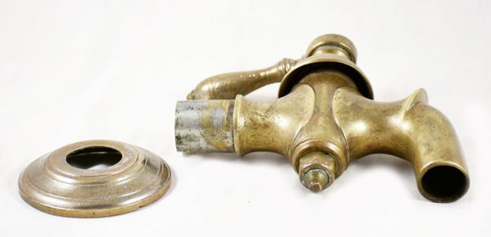 Pompkraan brons b.b 7