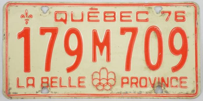 Nummerbord Québec c. d 11