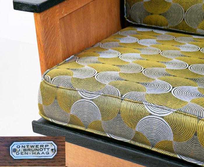 Rookstoel art deco Brunott Den Haag