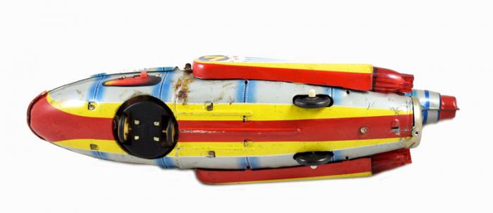 Ruimteraket Televiboat s. b 13