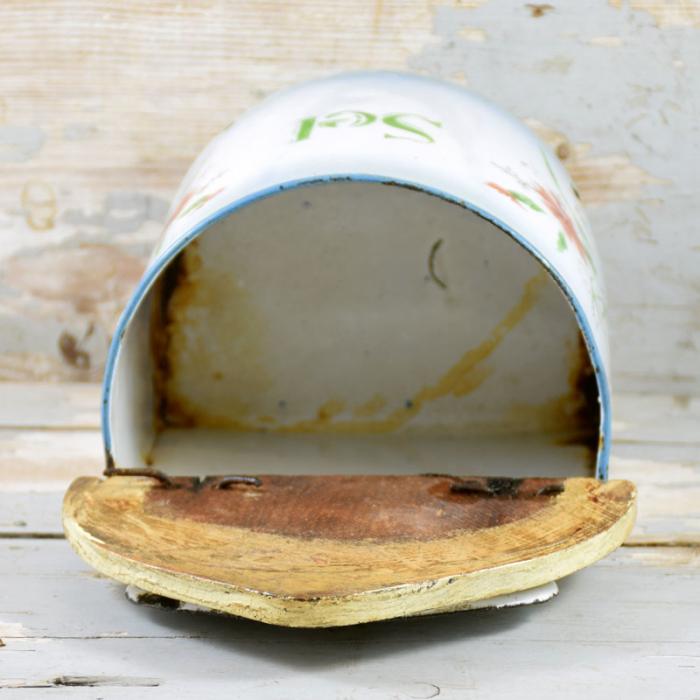 French salt canister e. ok 1