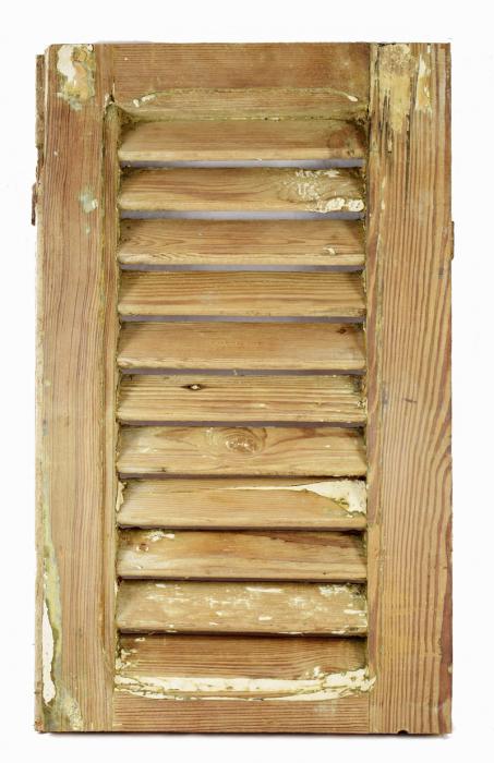 Kleine louvre deur c. m 13