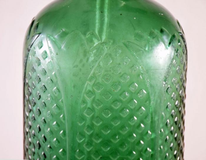 Groene soda sifon kk. k 1