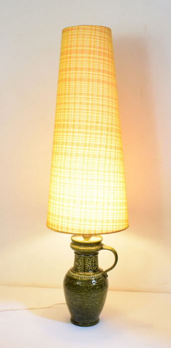 West Germany pottery floor lamp v. sl 15