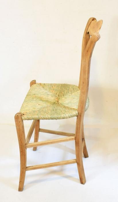 Antique Dutch farm chair