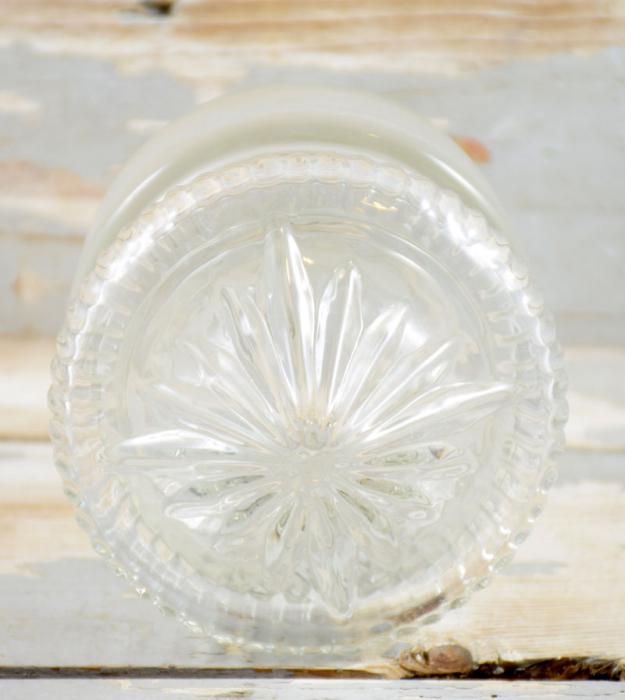 Glazen stopfles kk. k 14