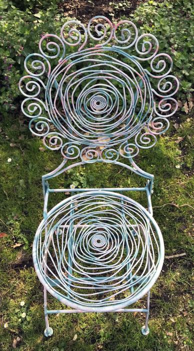 Tuinset blauw