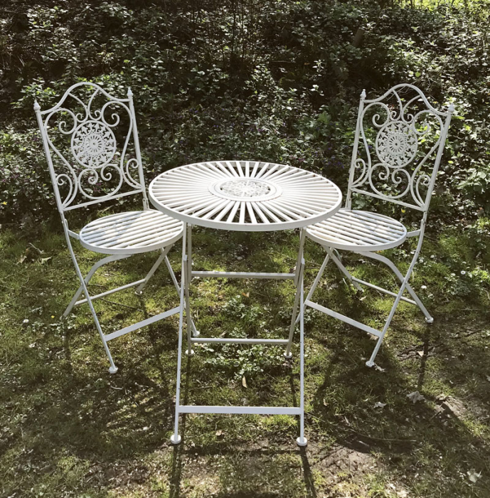 Garden set white